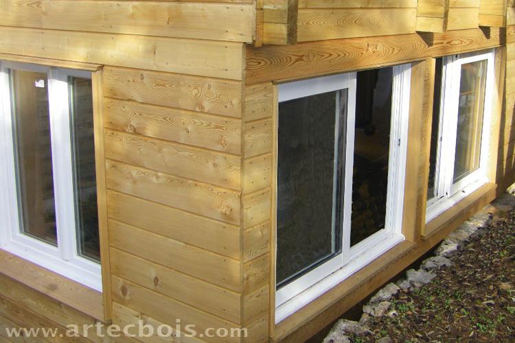 votre avis sur la ventilation du bardage sur poteau bois. Black Bedroom Furniture Sets. Home Design Ideas