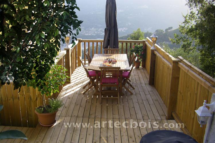 Comment Agrandir Une Terrasse En Hauteur Awesome Bien Entendu With