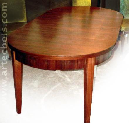 Artecbois b nisterie meubles anciens et contemporains for Table en palissandre massif
