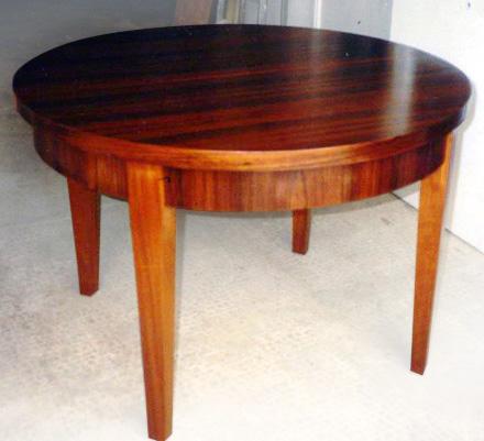Artecbois b nisterie meubles anciens et contemporains for Table palissandre avec rallonge