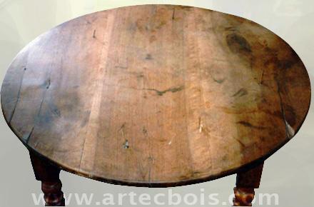 Artecbois b nisterie meubles anciens et contemporains for Table vue de haut