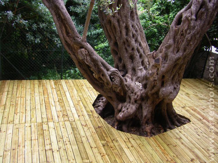 ARTECBOIS terrasses en bois posées platelages et structure en bois amenageme