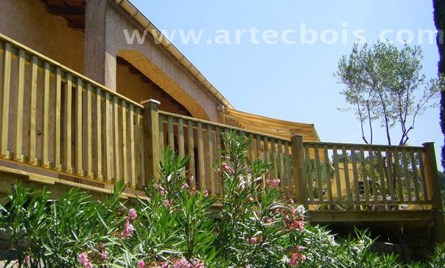 artecbois terrasses en bois et amenagements exterieurs en. Black Bedroom Furniture Sets. Home Design Ideas
