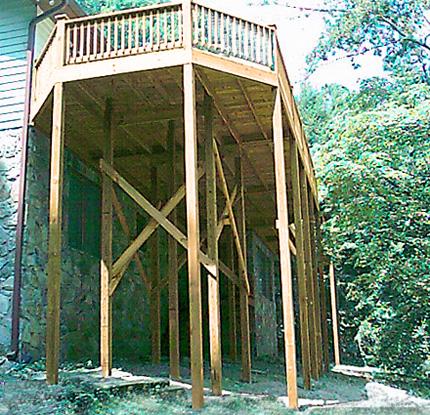artecbois terrasses en bois en hauteur suspendues ou sur. Black Bedroom Furniture Sets. Home Design Ideas